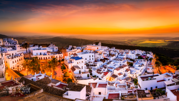 Dawn Over Vejer de la Frontera