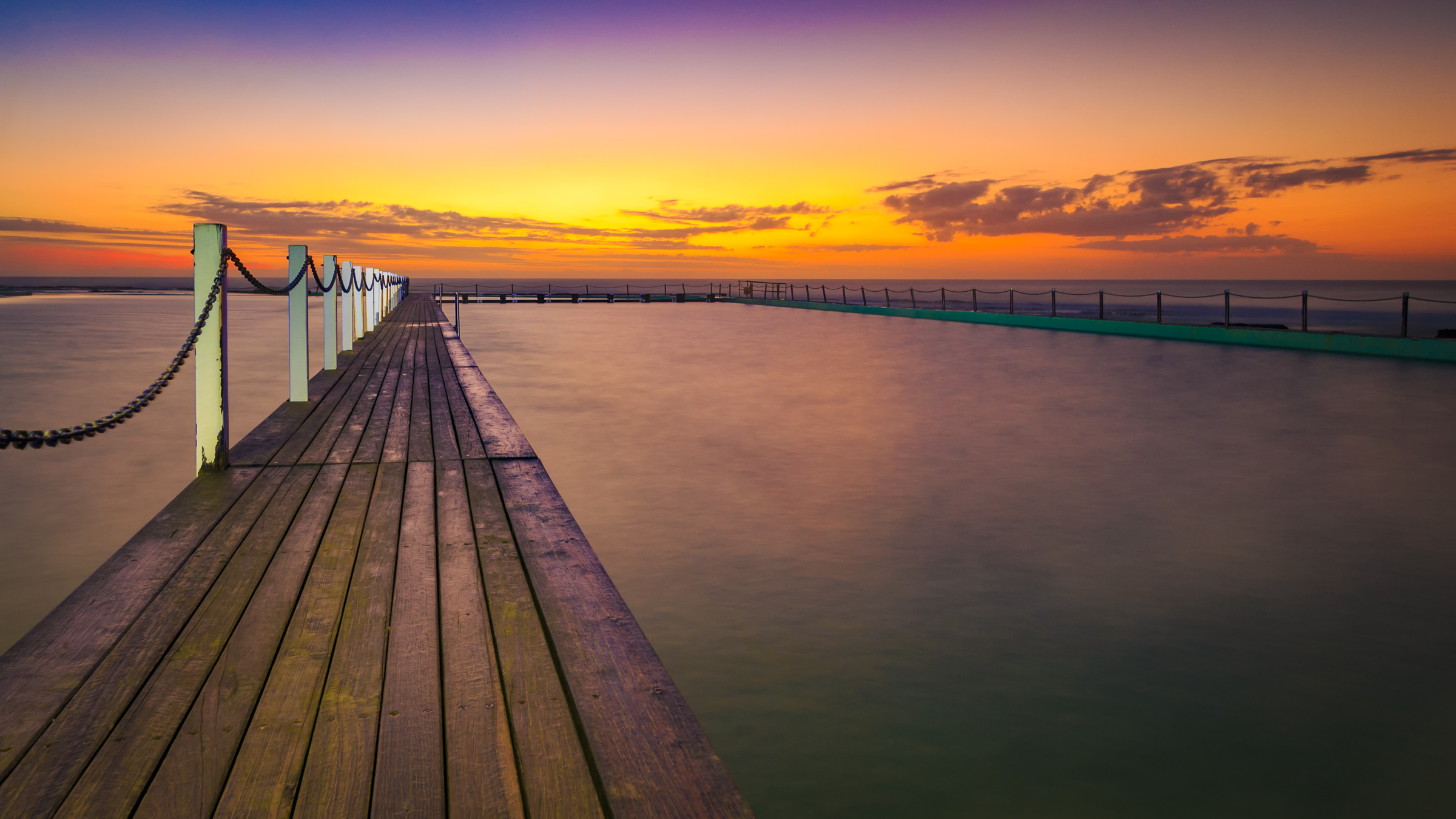 North Narrabeen Pool at Sunrise