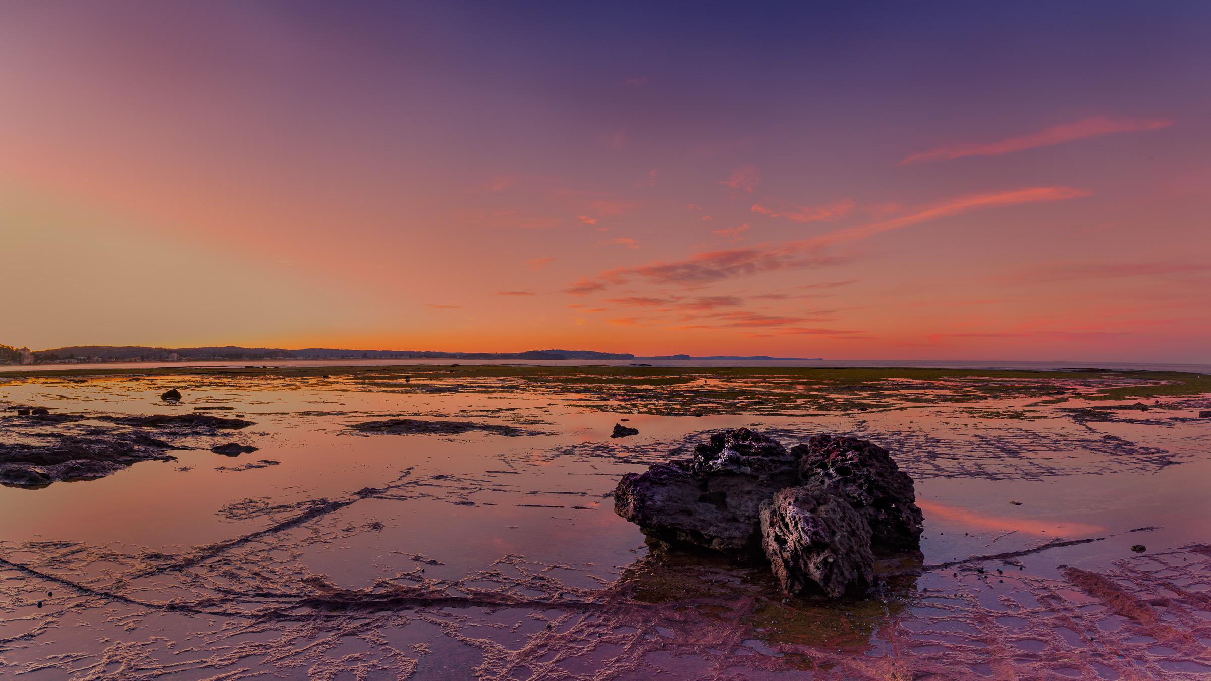 Sunset at Long Reef Panorama